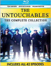 The Untouchables (1993): The Complete Series (Blu-ray Disc)