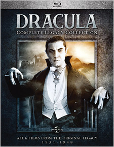 Dracula: The Complete Legacy Collection (Blu-ray Disc)