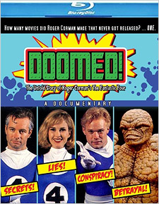 Doomed! The Untold Story of Roger Corman's The Fantastic Four (Blu-ray Disc)