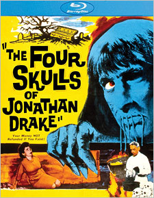 The Four Skulls of Jonathan Drake (Blu-ray Disc)