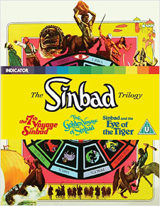 The Sinbad Trilogy (Blu-ray Disc)