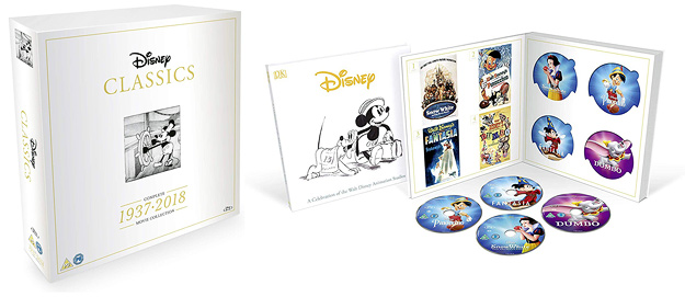 Disney Classics: Complete Movie Collection – 1937-2018 (Blu-ray Disc)