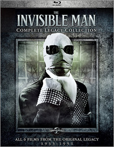 The Invisible Man: Complete Legacy Collection (Blu-ray Disc)