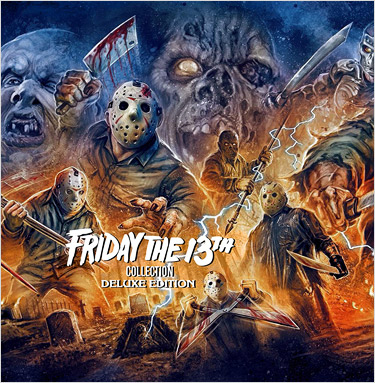 Friday the 13th: The Complete Collection - Deluxe Edition (Blu-ray Disc)