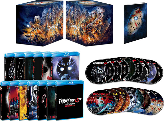 Friday the 13th Collection: Deluxe Edition (Blu-ray Disc)