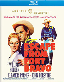 Escape from Fort Bravo (Blu-ray Disc)