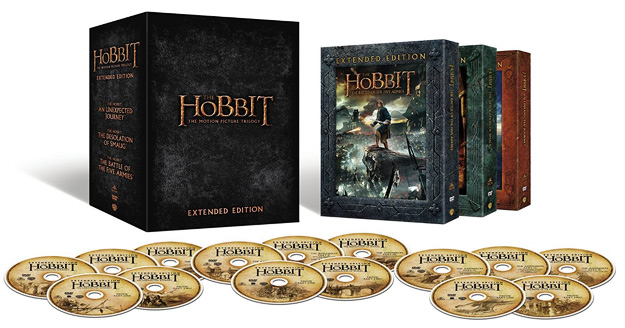 The Hobbit Trilogy - Extended Edition (DVD)