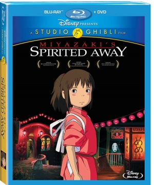 Spirited Away on Blu-ray