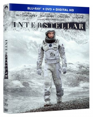 Interstellar on Blu-ray Disc