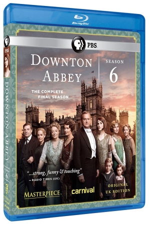 Downton Abbey: Season 6 (Blu-ray Disc)