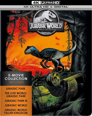 Jurassic World: 5-Film Collection (4K Ultra HD)