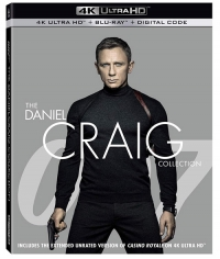 007: The Daniel Craig Collection (4K Ultra HD)