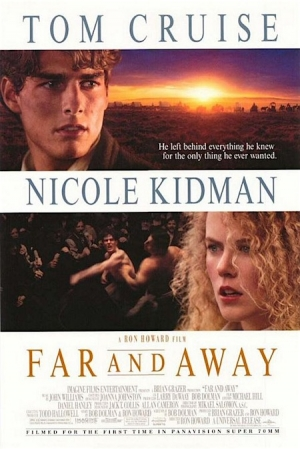 Far and Away one sheet