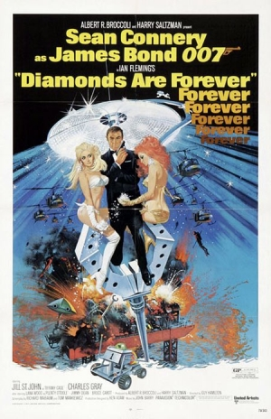 Diamonds Are Forever one sheet