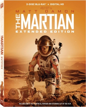 The Martian: Extended Edition Blu-ray