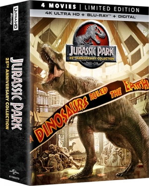 Jurassic Park: 25th Anniversary Collection (4K Ultra HD Blu-ray)