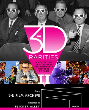 3-D Rarities II (Blu-ray 3D)