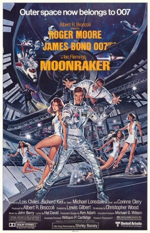 Moonraker one sheet