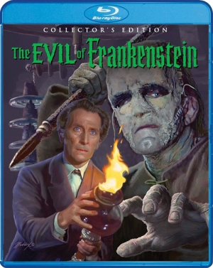 The Evil of Frankenstein (Blu-ray Disc)