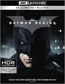 Batman Begins (4K UHD Review)