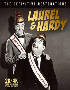 Laurel & Hardy: The Definitive Restorations (Blu-ray Review)