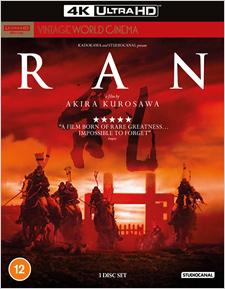 Ran (UK Import) (4K UHD Review)